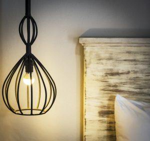 Hanging Bedside Lamp